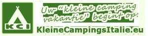 KCI kleine campings in Italië logo