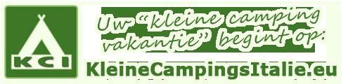 KCI kleinecampingsitalie.eu logo