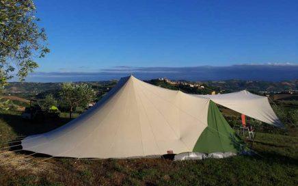 Kleine camping Villa Bussola