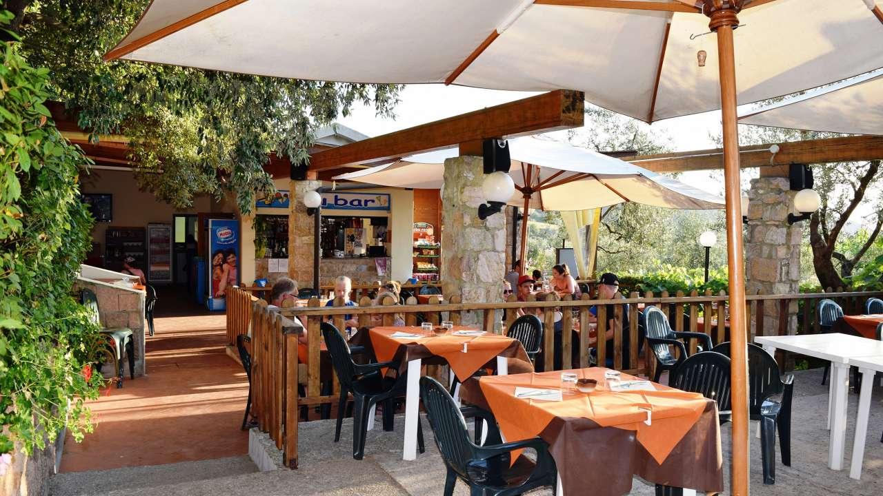 restaurant kleine camping Blucamp